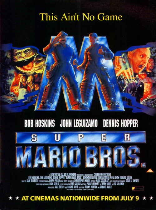 Super Mario Bros. The Movie advert.