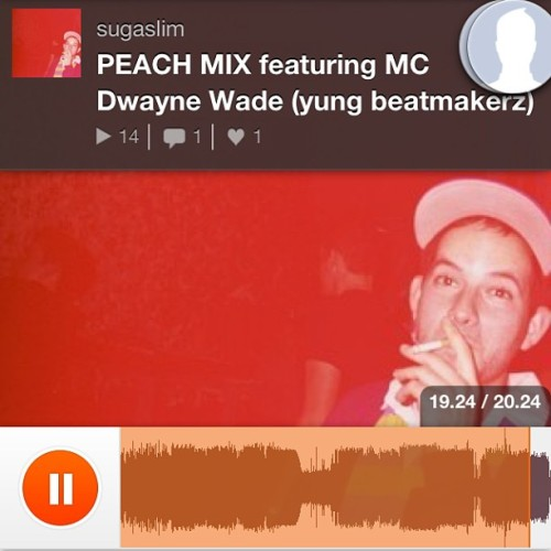 O yeahhhhhh buddy @sugasleazy #PEACH