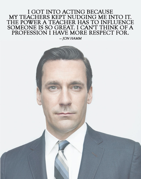 Mad Men fan? Thank a teacher.