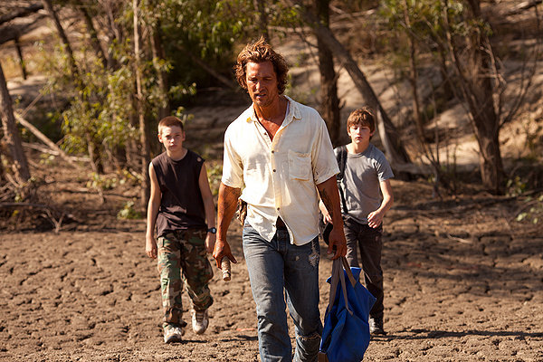 30. Mud Written and Directed by: Jeff Nichols Produced by: Lisa Maria Falcone, Sarah Green, Aaron Ryder, among others Cinematography by: Adam Stone Edited by: Julie Monroe Original Score by: David Wingo Starring: Tye Sheridan, Jacob Lofland, Matthew McConaughey, Reese Witherspoon, Sarah Paulson, Ray McKinnon, Sam Shepard, Michael Shannon, Paul Sparks, Bonnie Sturdivant Synopsis and Thoughts: See full review here.