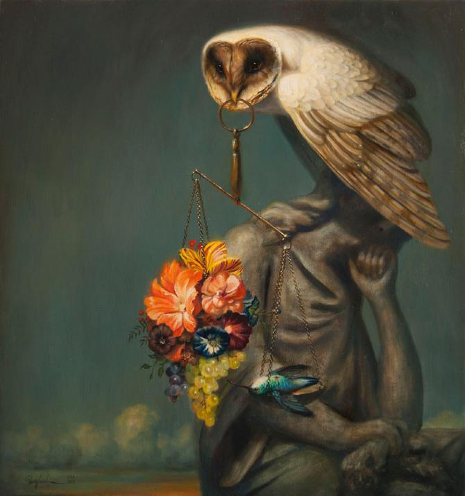 Art by Martin Wittfooth
