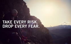 blackswanyoga:  take every #risk. drop every #fear.