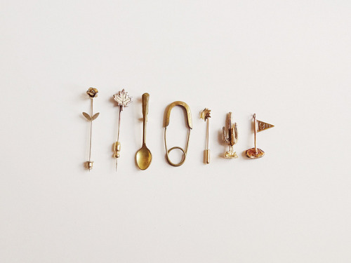 derivings:   my golden small objects collection by Furze Chan on Flickr.