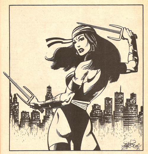 thespinnerrack:   Elektra by John Byrne
