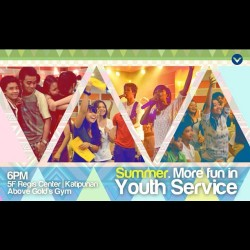 sweetmave:  #YouthService later! 👊😄 #lifebox  (at Victory Quezon City - Regis Center)