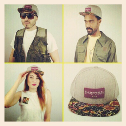 #New #ELAY #FreshLids #Hat #Snapback #Floral #camo #EverydayLiveAsYourself #Summer