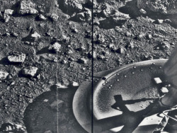 spaceexp:  The first photograph taken from the surface of Mars - Viking 1 on July 20, 1976