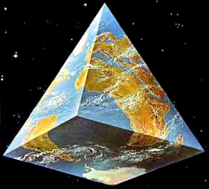 Image result for pyramid earth