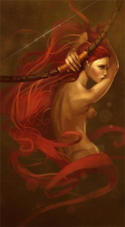 artforadults:  Adult Merida by Gerry Arthur