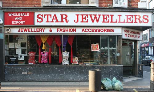 Star Jewellers, Berwick Street W1