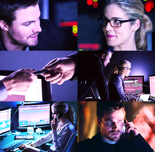 Olicity || 1x11 Trust But Verify