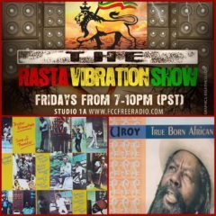 Tune inn to The Rasta Vibration Show tonight
