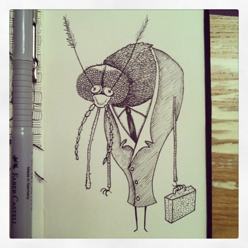 Mosquito #dailysketch
