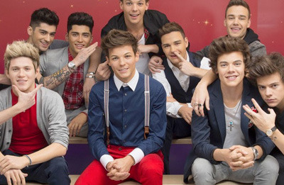 As estátuas de cera do One Direction? Perfeitas!