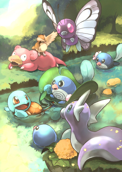 all-that-is-pokemon:  Artist: Toneko