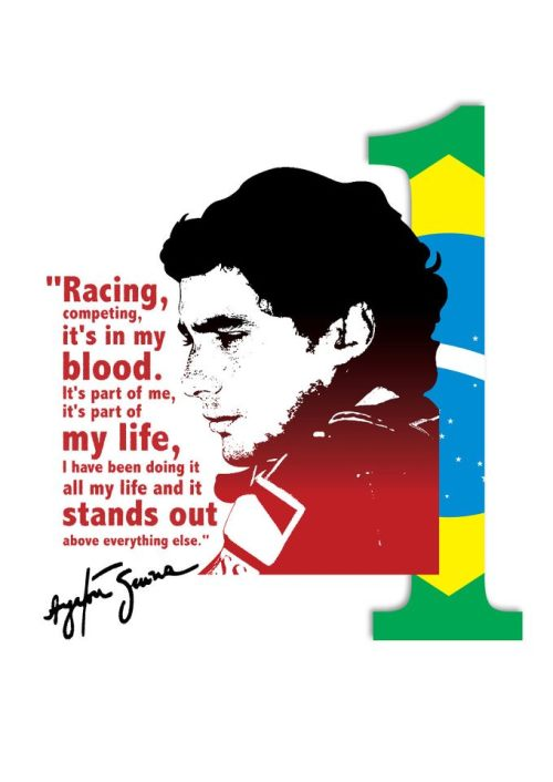 Ayrton is the number 1