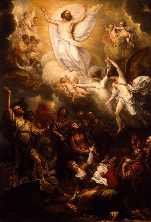 sins0fthefather:  Benjamin West. The Ascension. 1801