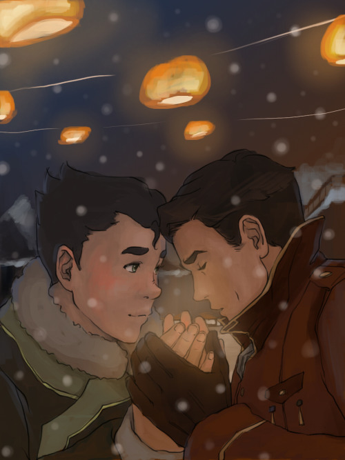 bumisbrohexchange:  Gift for: ka-ness Prompt: Iroh warming Bolin with his breath