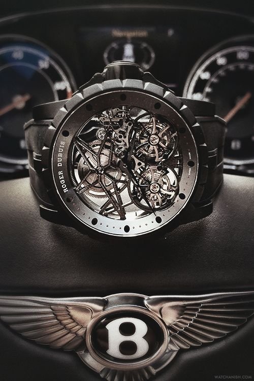 gear watch watches Roger Dubuis bentley