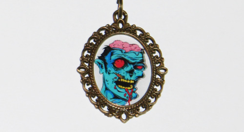 Zombie Necklacehttps://www.etsy.com/listing/125073809/zombie-necklace