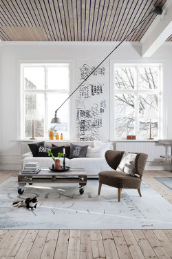 justthedesign:  Living Room Design By Ylva Skarp