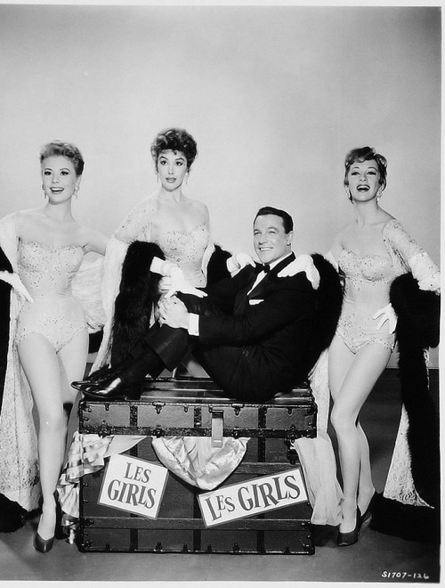 Mitzi Gaynor, Kay Kendall and Taina Elg in Les Girls, 1957.