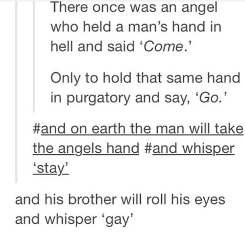 year-of-the-deanmon:  misswitsandsarcasm:  The Best of Supernatural Posts 1/?  WHO BROUGHT THESE BACK