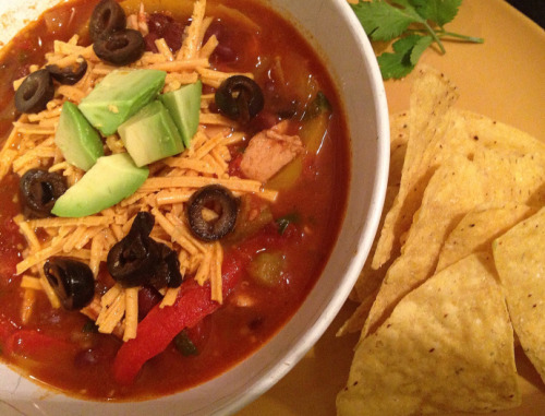 (Click here for recipe Chicken Fajita Soup )