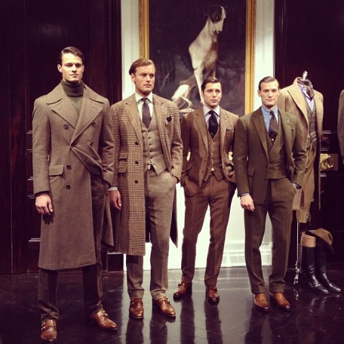 Ralph Lauren Menswear 2013-2014 Fall Winter facebook.com/GentlemanF