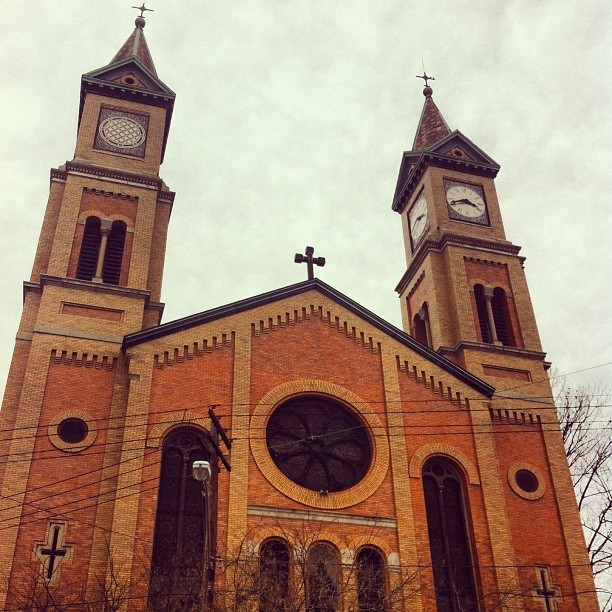 St. Francis Seraph #thisisotr #cincinnati #church (at St. Francis Seraph Church)
