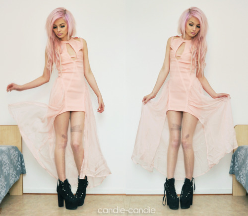 candie-candie:  I love my new Godspeed Dress from UNIF. You are soooo pretty, dress! ♥