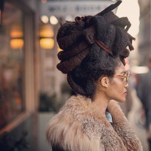 simbarashe:    Ladine, New York. #hair #fashion #instagood #love #photooftheday #beautiful #follow #girl #instadaily #black #dreads