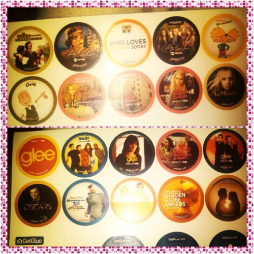 Meus stickerssssss #getglue