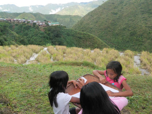 Drawing Activity. Granaries. Buscalan Aug 2012