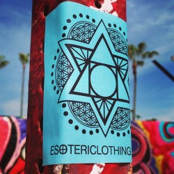 #Esoteric #sacredgeometry stickers included in all orders this week.<3 #Merkaba #FlowerofLife and #philosophersstone trinity, an original design by Esoteric. Offer ends this Sunday at 12pm.<3