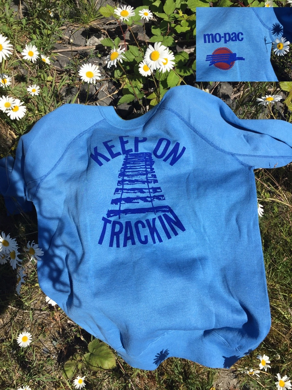 Deadstock 60's mo-pac sweatshirt #vintage#mopac#railroadiana#antiquing#deadstock