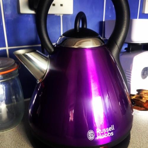 Boyfriend bought me a new kettle 😍😍