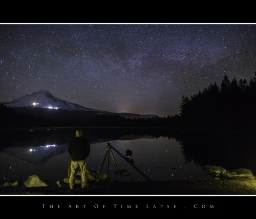 The gate for Trillium Lake is open!  I was hoping for some snow on the ground, but no luck this year :(