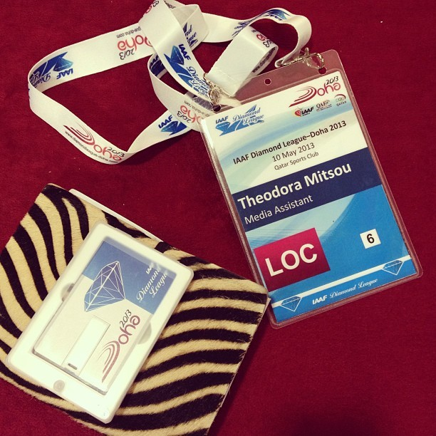 #iaaf #idl #doha #media essentials