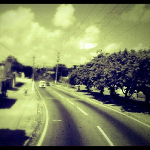 #Road #Retro #Sky #Now #Perfect #Amazing #Wow #Natal #Brasil #City #Cloud #