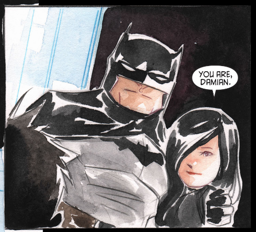 batman-blog:  cornflakepizza:  They're standing arm in arm…. ; ^ ; I've missed these two so much.  http://batman-blog.com/