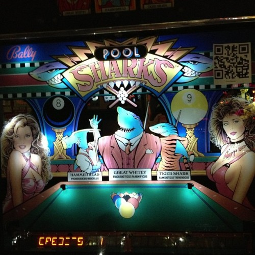 masudasan:  CHICKS 'N' SHARKS (at Pinball Hall of Fame)