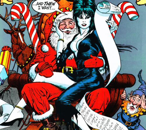 Elvira's Haunted Holidays comic (1987)