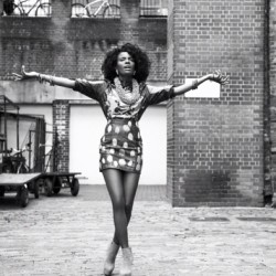 #fashion from the archive #celebrity #shingaishoniwa from the #noisettes for @blackhairmagazine #fashionstyling #fashionstylist #stylist #designer #highstreetfashion #streetwear #celebritystyle #style #celebrity #print #africa #makeup #beauty