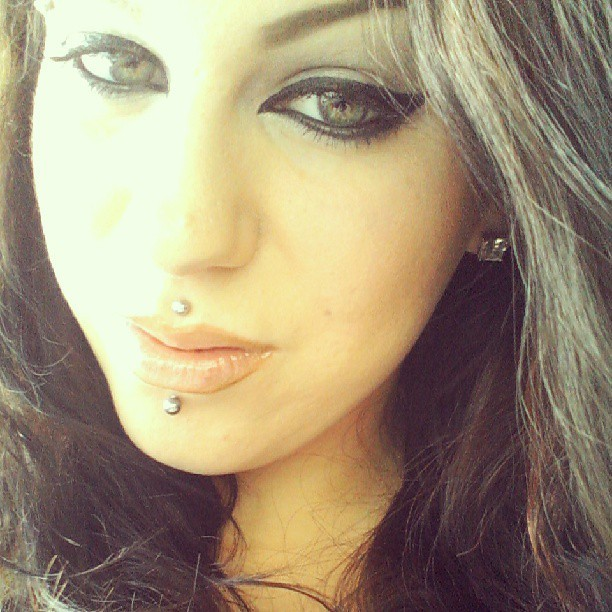 #beauty #makeup #hair #piercings #eyes