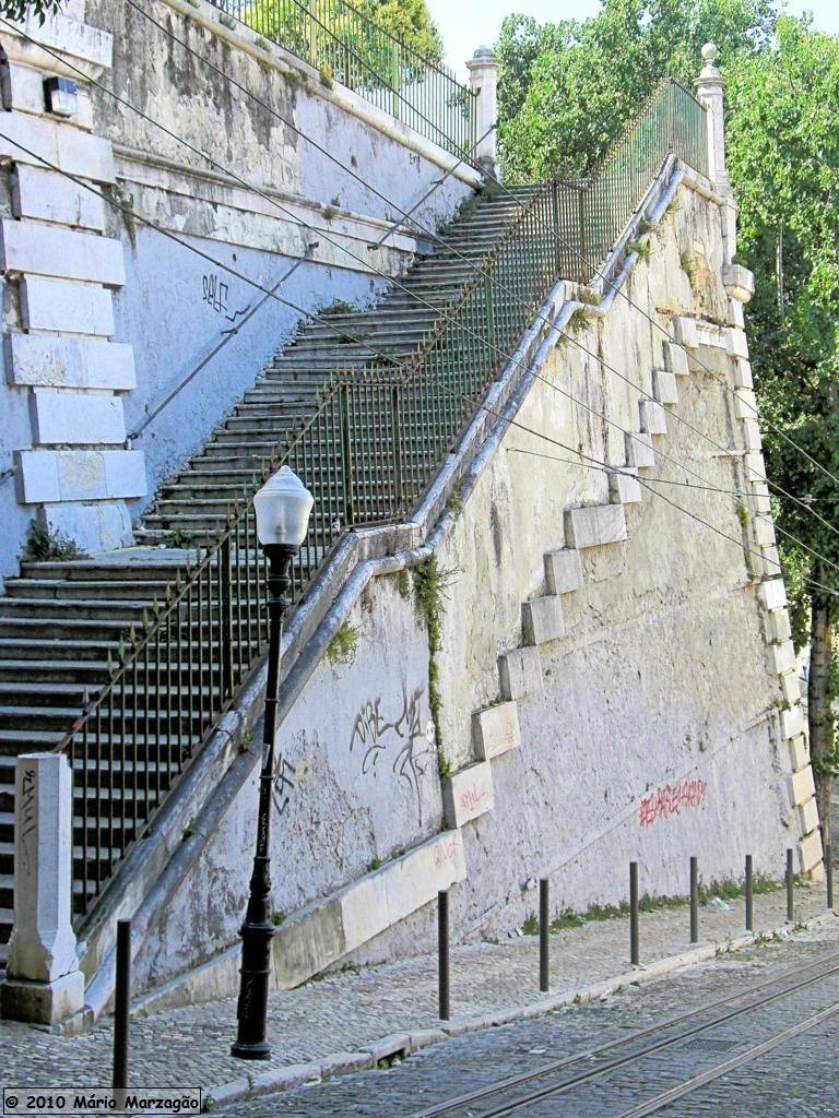 "#Architecture #Travel #Photo #Lisbon #Portugal | source Stairs in Lisbon. more about #Portugal: DK Eyewitness Travel Guide: Portugal  ""DK Eyewitness Travel Guide: Portugal"" - shows you what others only tell you.  CLICK & BUY MORE ABOUT PORTUGAL"