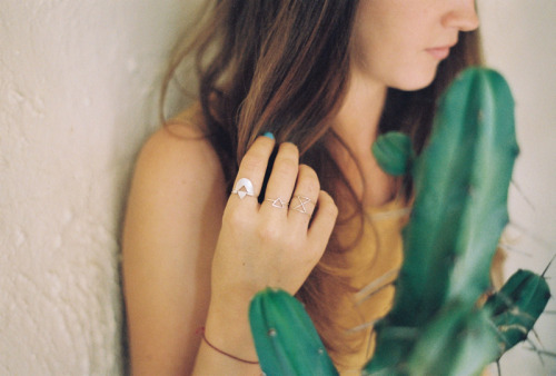 A shot from the Two Hills jewellery lookbook.