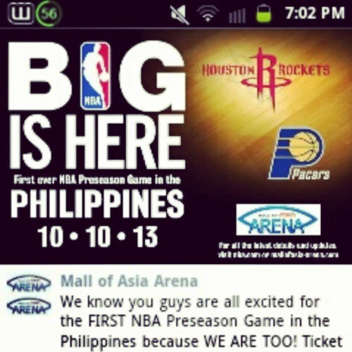 kyrosistable:  @thekatherinejoy LOOK! Nood tayo? :) #HoustonRockets #NBAinPH