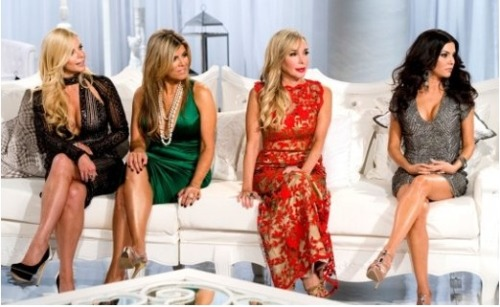"Because you couldn't get enough of them, The Real Housewives of Miami came back for a second reunion show! Check out the ""evil side"" of the couch and read our full recap and review by clicking the pic!"