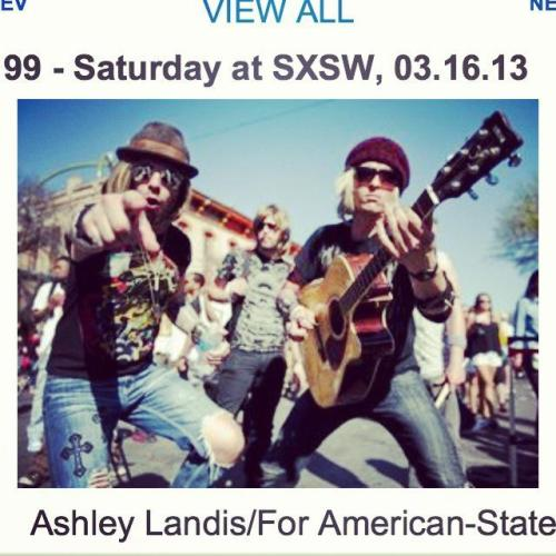 hey fans urll be happy to kno we made the awstin news at sxsw